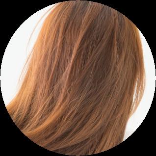 髪にやさしい施術